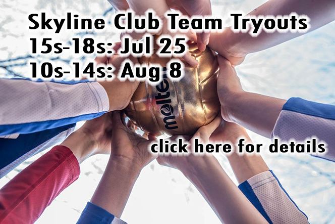 Signup now for Club Tryouts